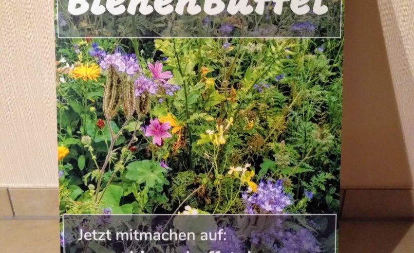 Bienenbuffet Schild 2020